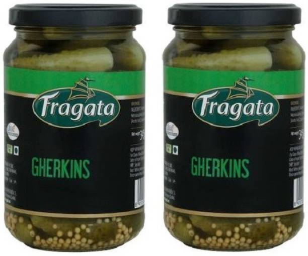 Fragata Spanish Gherkins - 345g x 2 = 690g Vegetables