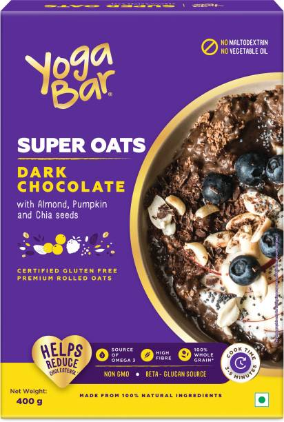 Yogabar Super Oats Dark Chocolate