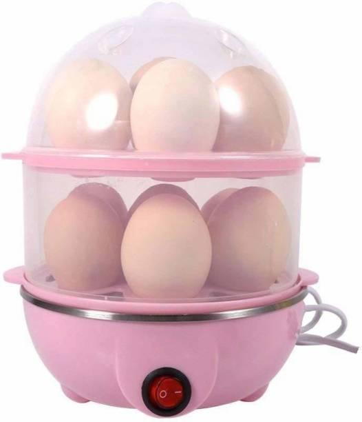 DeltaT 14 Egg Capacity Egg Cooker,350W Electric Egg Maker,Egg Steamer,Egg Boiler,Egg Cooker with Automatic Shut Off, Egg Cooker LK-98 Egg Cooker (14 Eggs) Egg Cooker