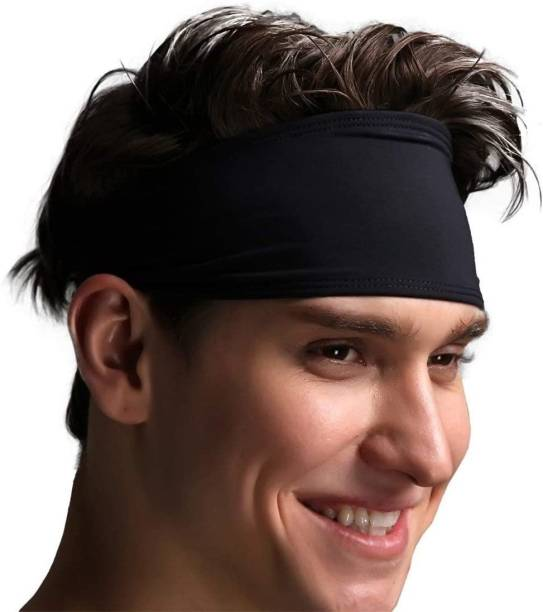 BISMAADH Workout Headband for Women & Men Wide, Moisture Wicking & Non-Slip Exercise Hairband or Sports Sweatband Keep Your Hair in Place ,Performance Stretch & Ideal for Running, Cycling & Yoga Head Head Band