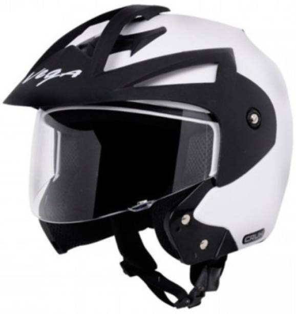 VEGA Crux OF (Open Face) Motorbike Helmet