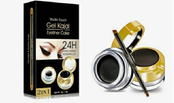 LOWPRICE PROFESSIONAL 2in1 studio touch Eyebrow and Gel Eyeliner cake