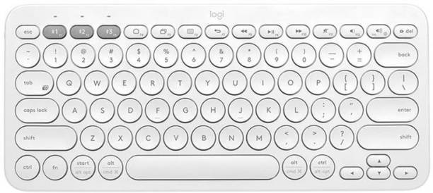 Logitech K380 WHITE Bluetooth Tablet Keyboard