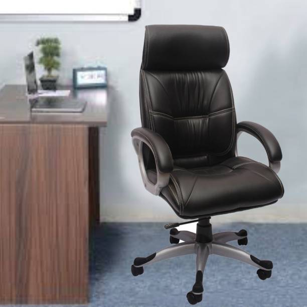Flipkart Perfect Homes Leatherette Office Arm Chair