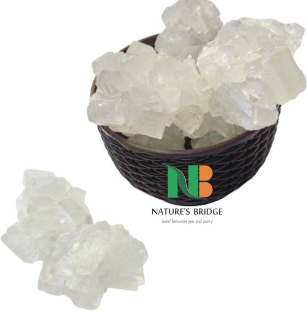 Nature's Bridge Mishri Dhaga (1.8 Kg) / Dhaga Mishri / Kunja Mishri / Dora Mishri / Crystal Sugar / Mishri - Pack of 900 Gm x 2 Sugar