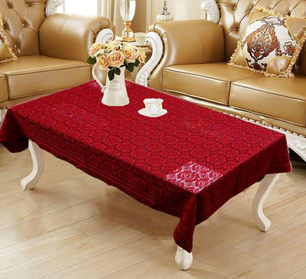 WEAVERS VILLA Floral 4 Seater Table Cover