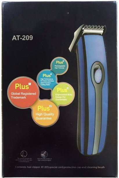 Electro Shoppee Perfect trimmer H T C RECHARGEABLE AT-209  Runtime: 45 min Trimmer for Men