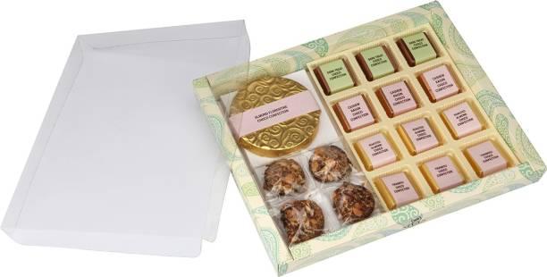 NIVAS CHOCOLATE SIGNATURE CHOCO CONFECTION GIFT BOX Caramels