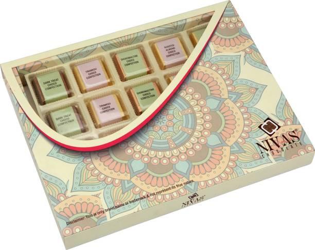 NIVAS CHOCOLATE EXOTIC CHOCO CONFECTION GIFT BOX ( 250 GMS) Bars