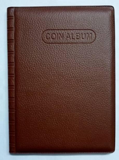rci Coin Album Keeping 60 Coins collection Coin Bank (Brown) Coin Bank