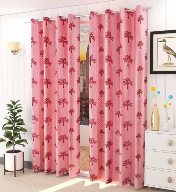 SB Textiles 152 cm (5 ft) Polyester Window Curtain Single Curtain