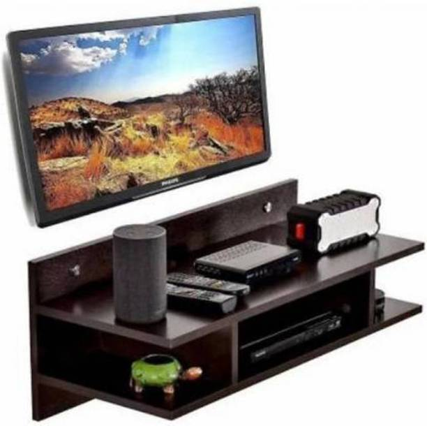 Sublime Arts Tv Entertainment Set top Box Stand Ideal for Bedroom, LivingRoom Engineered Wood Display Unit