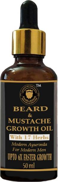 Daarimooch Beard & Mustache Growth Oil Hair Oil