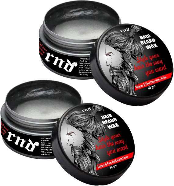 RND Strong Hair Wax Super Hold Wax - 80gm Hair Wax