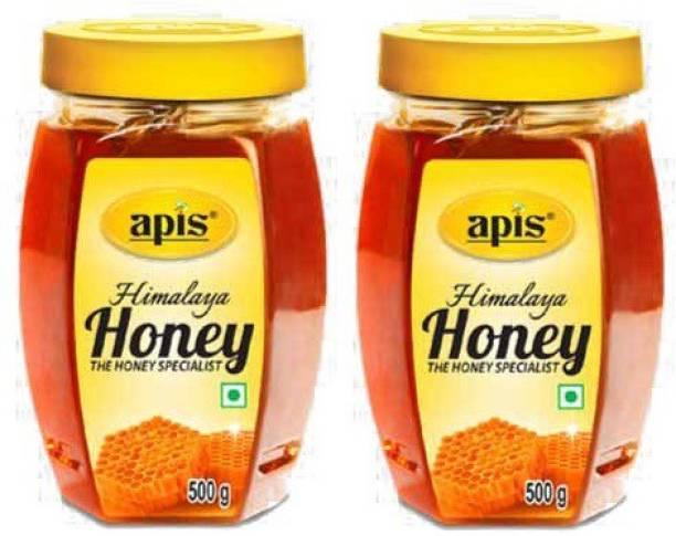 Apis Honey 500 (1 kg, Pack of 2)