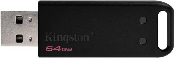 KINGSTON Dependable and Capless USB DataTraveler 64 GB Pen Drive