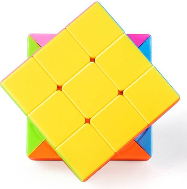 TamBoora 3x3x3 High Speed Extremely Smooth Turning Magic Cube Learning & Educational Toy Puzzle Mind Sharpener Game