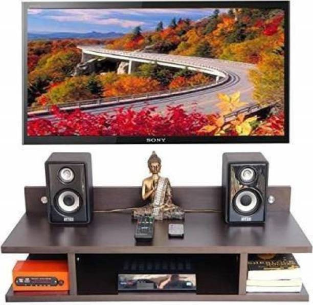 woodcraftindia TV wall shelf stand Wooden Wall Shelf