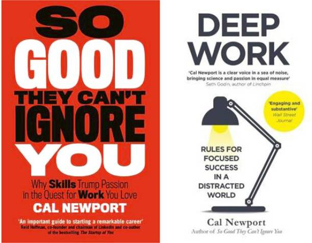 Set Of 2 So Good They Can't Ignore You And Deep Work