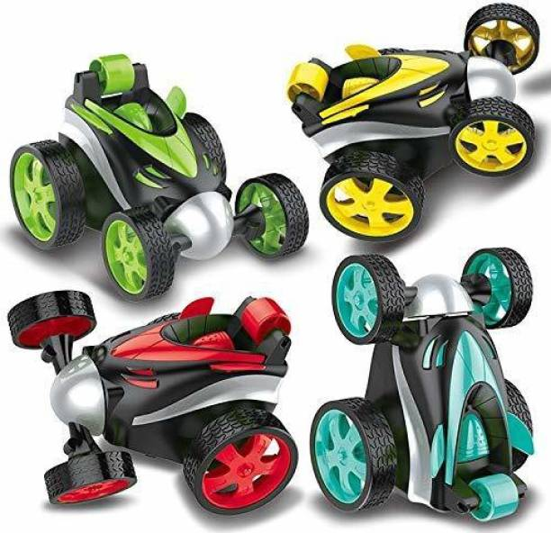 Toy Creation Toys for Kids|360° Tumbling Roller Rotation Mini Stunt Car Racing Wireless Remote Control Stunt Dancing Car Boy Children's Toys.