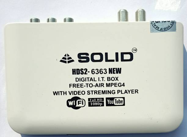 dilos SOLID HDS2-6363 DIGITAL I.T BOX FOR GAINING ACCESS TO INTERNET AND SATELLITE MPG4 BOX Media Streaming Device