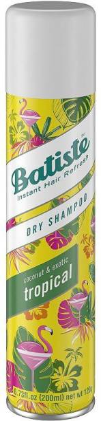 Batiste Dry Shampoo Coconut And Exotic Tropical