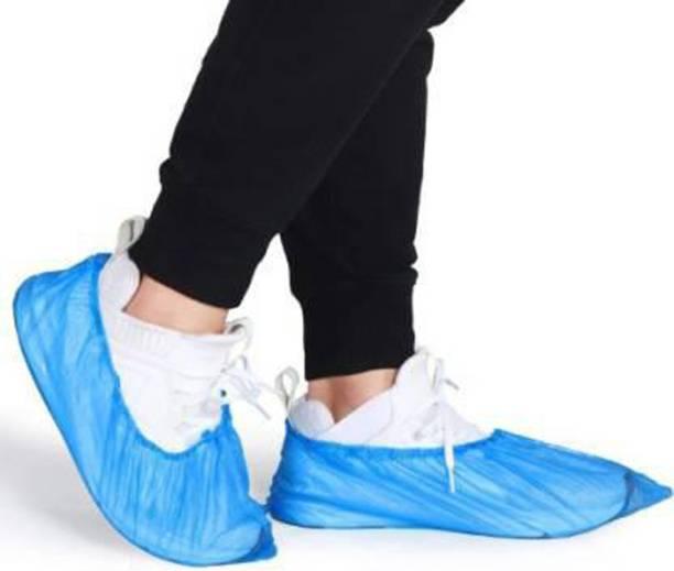 E-Shoppe sucvr14 PP (Polypropylene) Blue Boots Shoe Cover, Flat Shoe Cover, Toes Shoe Cover