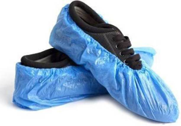 E-Shoppe sucvr02 PP (Polypropylene) Blue Boots Shoe Cover, Flat Shoe Cover, Toes Shoe Cover