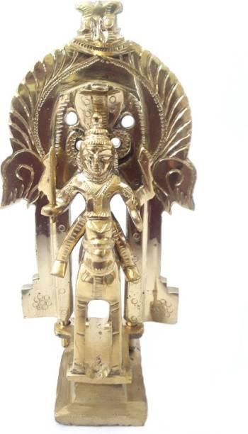 AMKL Brass Jyotiba Murti Decorative Showpiece  -  16 cm