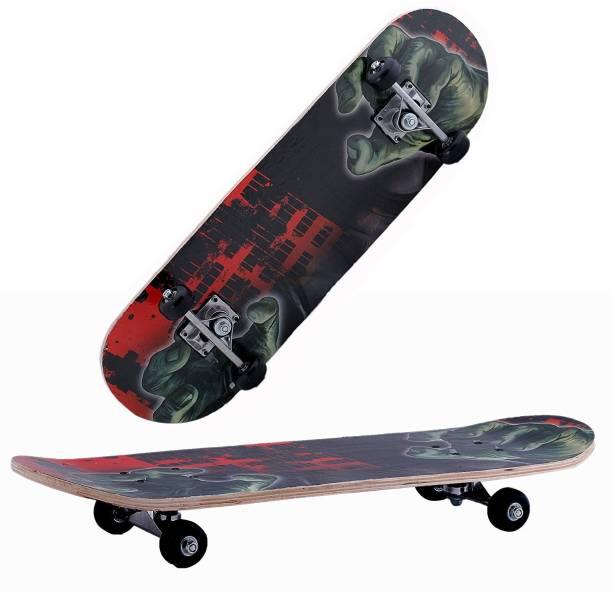 NOVICZ 1169-L Skating Board 28 inch x 7.5 inch Skateboard