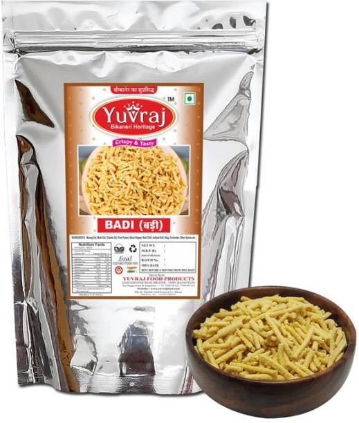 Yuvraj Food Product Badi wadi |Marwari wadian | Hing Badi with Free kasuri methi pack Rajasthani hand made products 500 gm pack 500 g