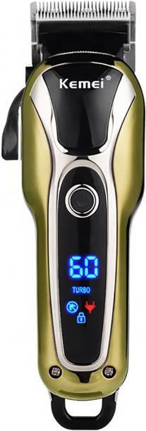 Kemei KM 1990 (PROFESSIONAL HAIR TRIMMER)  Runtime: 120 min Trimmer for Men