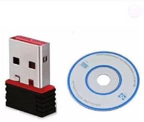 amblic WiFi USB Adapter for Computer Dekstop, Wi-Fi Receiver 2.4GHz, 802.11b/g/n USB Wireless Mini Wi-Fi Network Adapter, WiFi USB dongle/WiFi Adapter for Desktop/WiFi Adapter for Laptop USB Adapter