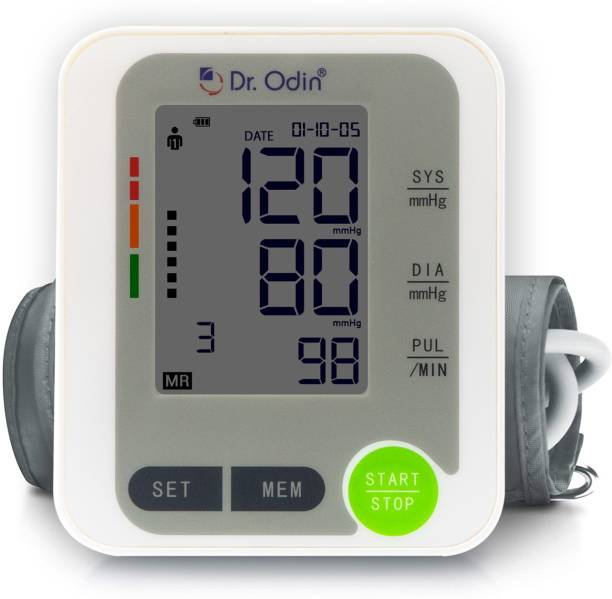 Dr. Odin Automatic Digital Blood Pressure Monitor with LCD Display Bp Monitor