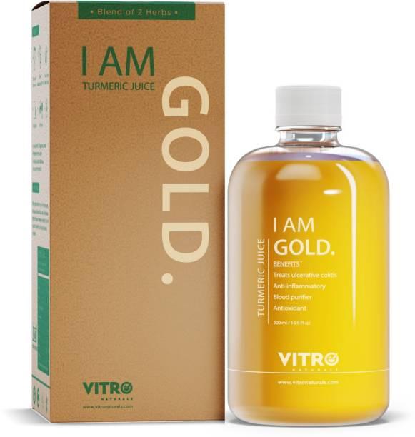 VITRO I AM GOLD TURMERIC JUICE