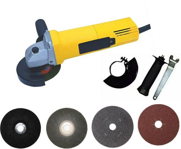NETCO 801 ANGLE GRINDER HEAVY DUTY WITH 4 DISC Angle Grinder