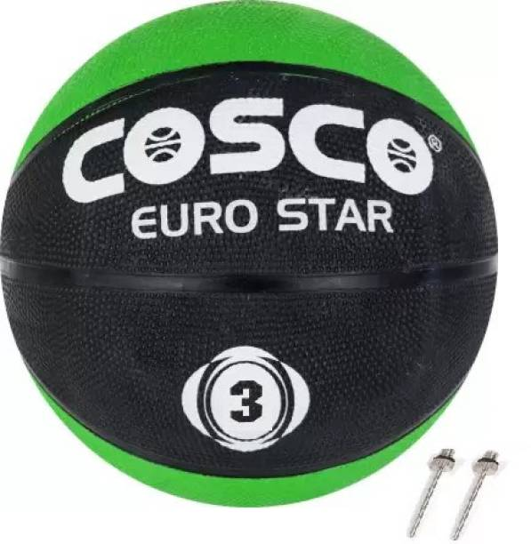 COSCO (S-3) Basketball With 2 Niddle Basketball - Size: 3