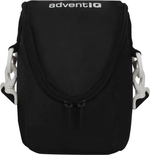 AdventIQ DSLR/SLR Camera Lens Shoulder-Sling Bag-Black Clr (BNP 0271 Captura)  Camera Bag