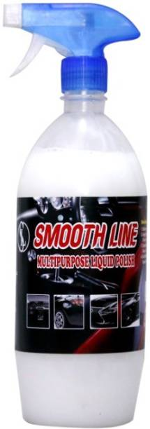 Smooth line Liquid Car Polish for Dashboard, Leather, Tyres, Metal Parts, Exterior