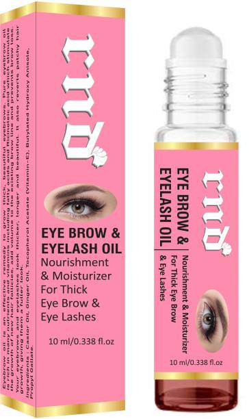 RND Eyebrow & Eyelash Growth Oil For Women - Strength with Pure Natural Ingredient 10 ml 10 ml