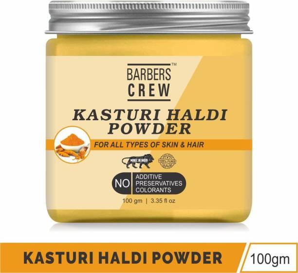 Barbers Crew Wild Amba Haldi Kasturi Turmeric Manjal Powder For Skin Whitening-