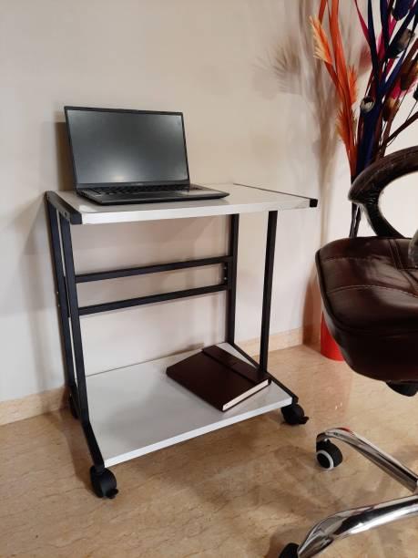 Smart Shelter Portable Laptop Table/Study/Work Multi Utility Table (100% Metal Design) Portable Laptop Table/Study/Work Multi Utility Table Laptop Stand