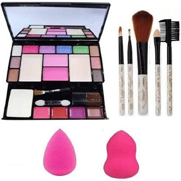 MY TYA Makeup Mania Kit + 5 Piece Makeup Brushes + Me Now Makeup Sponges