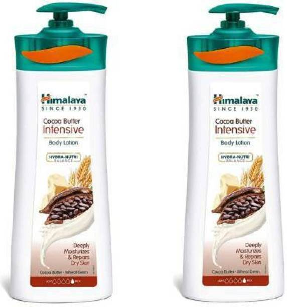HIMALAYA Cocoa Butter Intensive With Hydea _ Nutri Balance (400 ML) (Pack of 2)