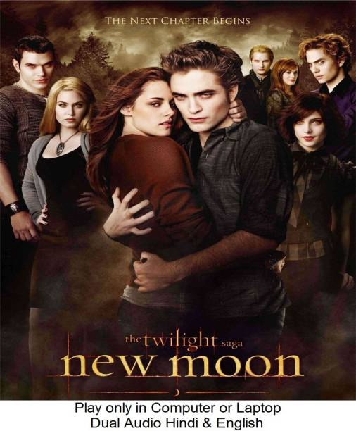 The Twilight Saga: New Moon (2009) in Hindi & English it's DURN DATA DVD play only in computer or laptop it's not original without poster