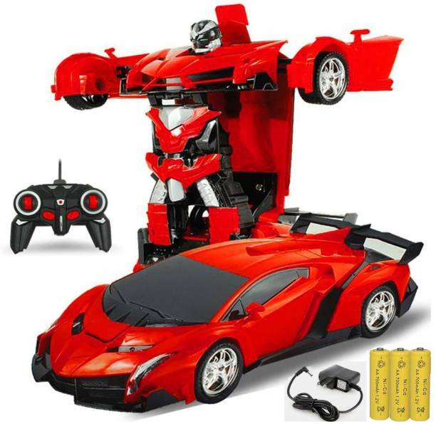 IMSZZ TRADING Remote Control Car Transformer Robot car for Kids 3 to 6 Years