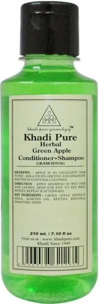 Khadi Pure GREEN APPLE CONDITIONER+SHAMPOO GRAMODYOG