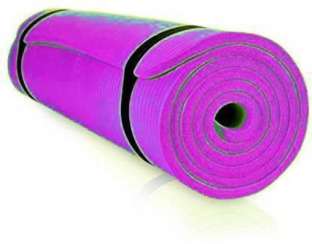 GROVERTEXOFAB ANTI-SKID PURPLE 4 MM WITH STRAP 4 mm Yoga Mat