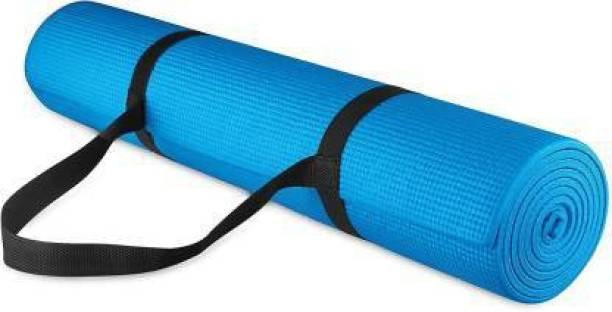 GROVERTEXOFAB ANTI-SKID BLUE 4 MM WITH STRAP 4 mm Yoga Mat