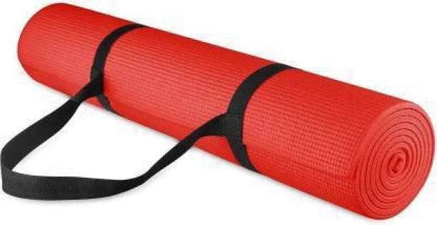 GROVERTEXOFAB ANTI-SKID RED 4 MM WITH STRAP 4 mm Yoga Mat